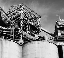 cement works # 1 - superstructure by mick8585
