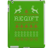 Regift ugly Christmas present iPad Case/Skin