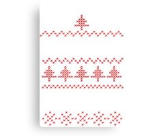 Regift ugly Christmas present Canvas Print