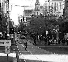 Swanston Street Melbourne by MattLew