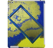 Abstract Rectangle In Yellow iPad Case/Skin