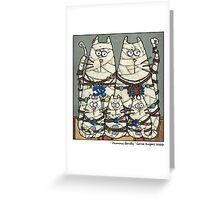 Mummy family Greeting Card