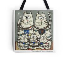 Mummy family Tote Bag
