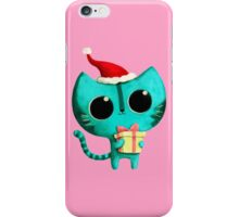 Cute Christmas Cat iPhone Case/Skin
