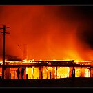 heritage housefire - Vic. by Tony Middleton