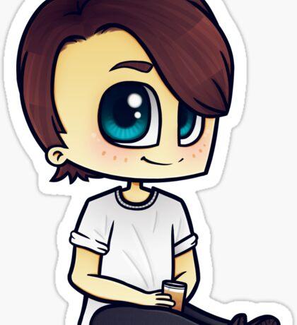 Tiny Tim Tam Sticker