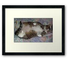 Tyler- Baby love Framed Print