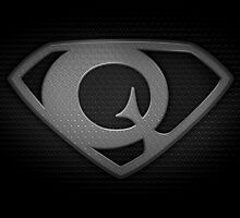 """The Letter Q in the Style of """"Man of Steel"""" by BigRockDJ"""
