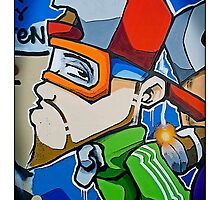 Street art by Cheo, 2009, Bristol by Tim Constable