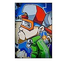 Street art by Cheo, 2009, Bristol Photographic Print