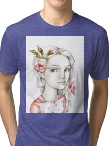 Wild Rose Tri-blend T-Shirt