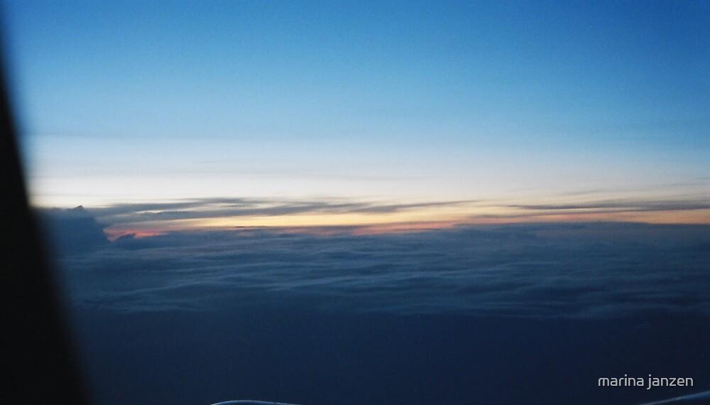 five hour sunset by marina janzen