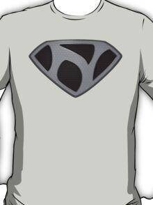 "The Letter N in the Style of ""Man of Steel"" T-Shirt"