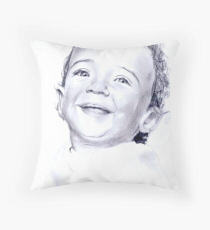 Young Boy Throw Pillow