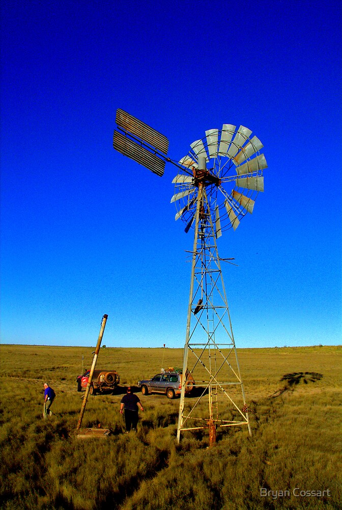 Canning Wind Mill by Bryan Cossart