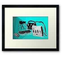 Handbags- (men do comment too!) Framed Print