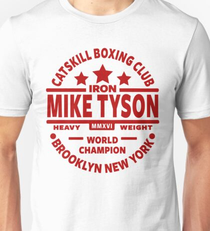 Mike Tyson Boxing Gym Unisex T-Shirt