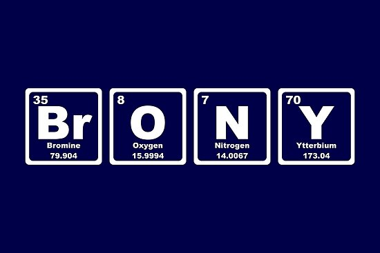 Brony - Periodic Table by graphix
