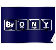 Brony - Periodic Table Poster