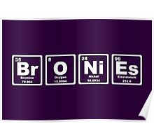 Bronies - Periodic Table Poster