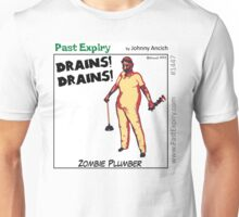 Cartoon : Zombie Plumber Unisex T-Shirt