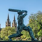 Sir Donald Bradman (The Don)  by DPalmer