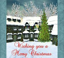 Wishing You A Merry Christmas Filled With Special Moments Card by Vickie Emms