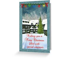 Wishing You A Merry Christmas Filled With Special Moments Card Greeting Card