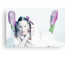 sweet bride Canvas Print