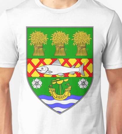 County Down Coat of Arms Unisex T-Shirt