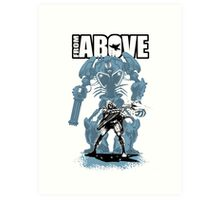 From Above Comic Art Print
