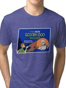 Scooby-Doo Meets Robocop Tri-blend T-Shirt