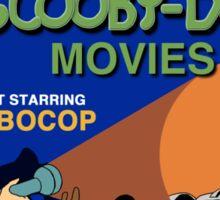 Scooby-Doo Meets Robocop Sticker