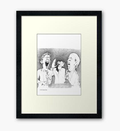The Many Faces of Jit Murad Framed Print