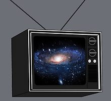 Nebula on Vintage T.V by CultCouture