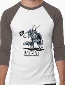 From Above Comic Men's Baseball ¾ T-Shirt