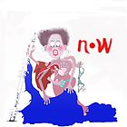 """FUN Card  """" NOW """" by Beryl Withnell"""