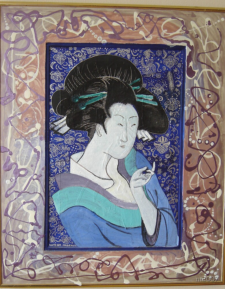 Blue Geisha by nt2007