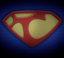 """The Letter T in the Style of """"Man of Steel"""" by BigRockDJ"""