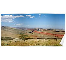 Big Sky Country Poster
