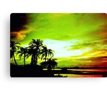 Expressive sky Canvas Print