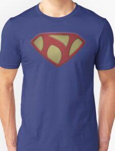 """The Letter N in the Style of """"Man of Steel"""" Unisex T-Shirt"""