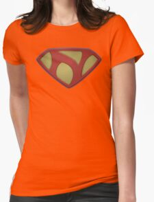 "The Letter N in the Style of ""Man of Steel"" Womens Fitted T-Shirt"