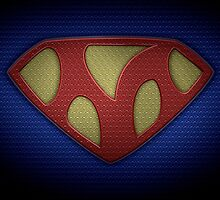 """The Letter M in the Style of """"Man of Steel"""" by BigRockDJ"""
