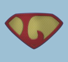 """The Letter L in the Style of """"Man of Steel"""" Baby Tee"""
