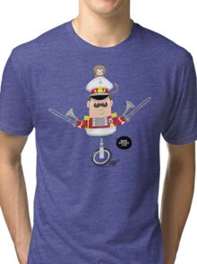 Captain Pizzazz Tri-blend T-Shirt