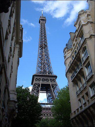 Downtown Paris - Effiel Tower by saramathews