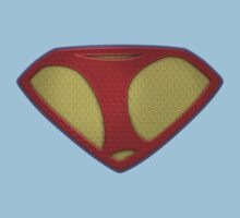 """The Letter I in the Style of """"Man of Steel"""" Kids Tee"""