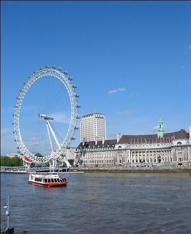 "The London ""Eye"" by saramathews"