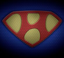 """The Letter H in the Style of """"Man of Steel"""" by BigRockDJ"""